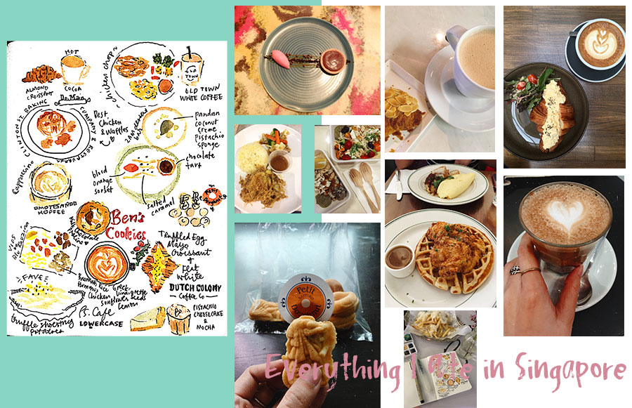 Tiny Notebook: What I Ate in Singapore