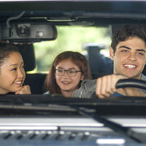 Noah Centineo, Lana Condor, Anna Cathcart in To All the Boys I've Loved Before