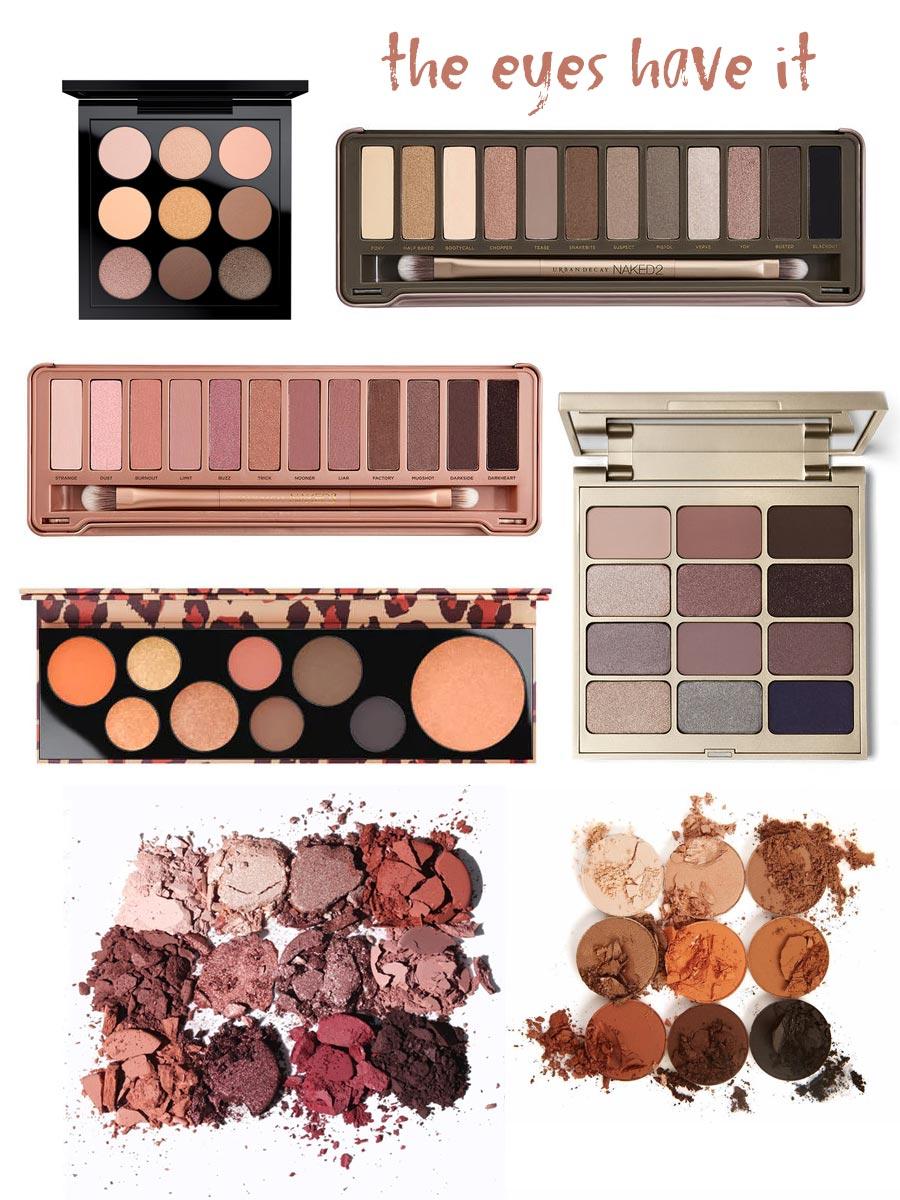 Eye makeup from MAC, Urban Decay, Kylie Cosmetics, Stila, and Colourpop Cosmetics