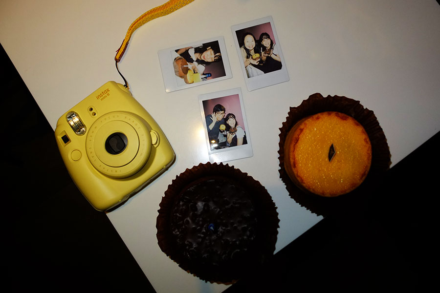 Birthday cake and Instax