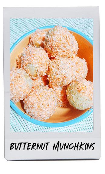 Homemade Butternut Munchkins