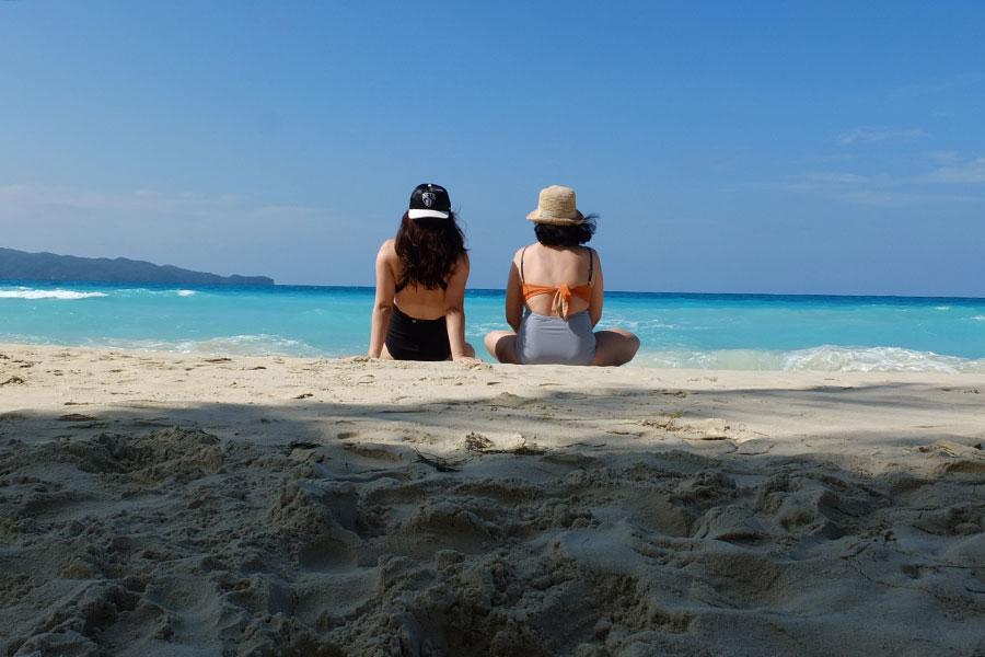 Coral Swimwear in Boracay