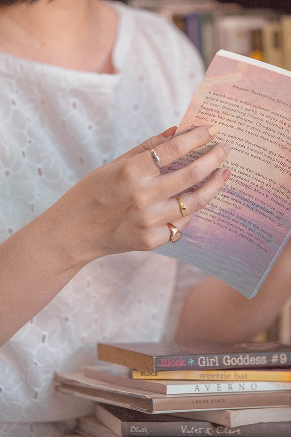 Signorina rings by Macy Alcaraz for Dandy Ona Jewelry