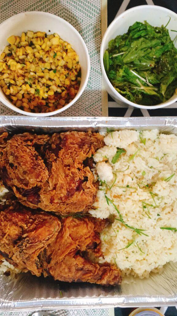 Tetsuo Chicken Platter
