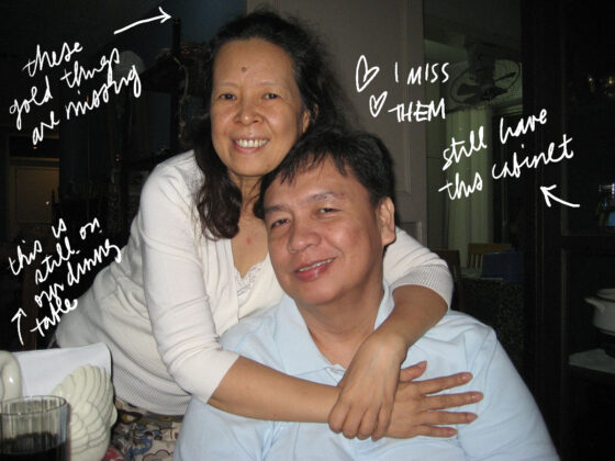 Mommy and Daddy in Xavierville